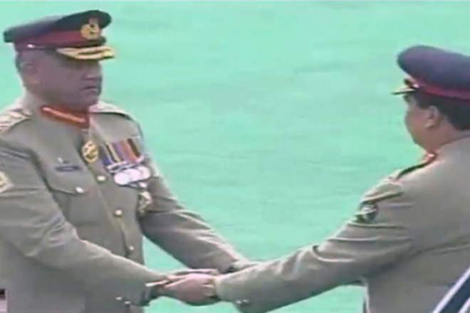 General Qamar Javed Bajwa gets Pakistan army's baton of command