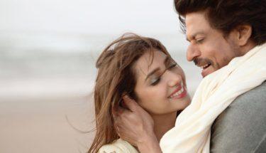ماہرہ خان اور شاہ رخ خان پر فلمایا جانے والا گانا آج منظرِعام پر آگیا