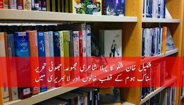 شکیل خان شکّو کا پہلا شاعری مجموعہ سٹاک ہوم لائبریری میں