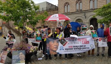 برمامیں روہنگیامسلمانوں پرمظالم کیخلاف سویڈش پارلیمنٹ کے سامنے مظاہرہ