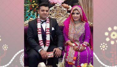 عشر محمد اور ثمرین بیلا رشتہ ازدواج میں بندھ گئے