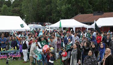 اسٹاک ہوم جشن آزادی میلہ پاکستانی ثقافت کو فروغ ملے گا۔ سفیرپاکستان احمد حسین