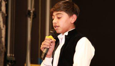 یوم پاکستان کے موقع پرسمیر عرفان نے نعت پڑھی