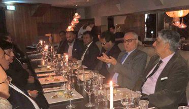 گورنر بلوچستان کا دورہ سویڈن