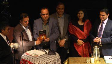 محمد ادریس لاہوری  صاحب کی کتاب  'ذرا سی دھوپ رہنے دو' کی تقریب رونمائی
