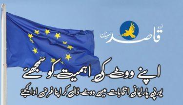 یورپی پارلیمانی انتخابات 2019