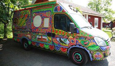 پاکستان کے رنگوں سے سجا فوڈ ٹرک ، سویڈن میں چلتی پھرتی آرٹ گیلری کے طور پر نظر آئے گا