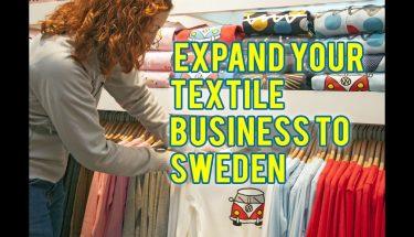 سویڈن میں پاکستانی ٹیکسٹائل مصنوعات برآمد کیسے کریں