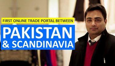 پاکستان اوراسکینڈینویا کے درمیان پہلا ٹریڈ پورٹل