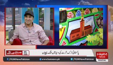 پاکستانی ٹرک آرٹ کے ذریعے معاشرے کو مثبت پیغام دینے والے علی سلمان انچن