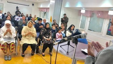کشمیر سمیت دنیا بھر کے مسلمانوں اور ظلم سے دوچار افراد کے لیے ڈاکٹر عارف کسانہ نے خصوصی دعا کروائی۔