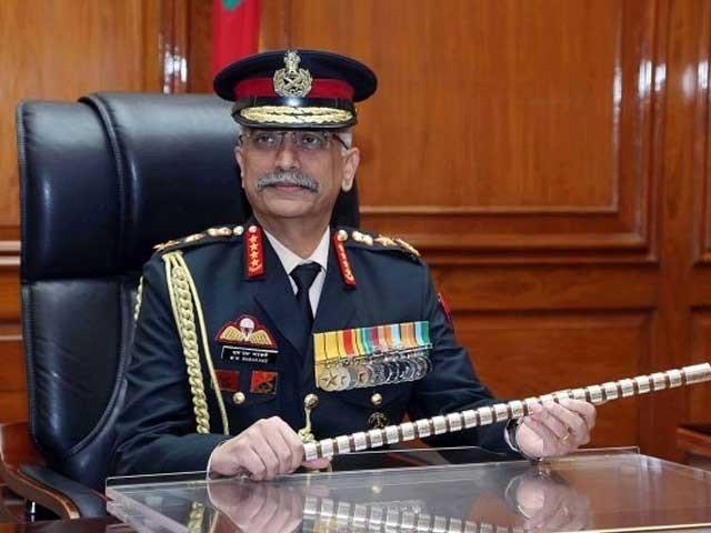 مقبوضہ کشمیر میں ہمیں عوام کی حمایت حاصل ہے،جنرل منوج موکنڈ نراوانے