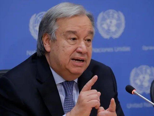 اقوام متحدہ کے جنرل سیکریٹری نتونیو گوتریس بڑی معاشی قوتوں کو امدادی پروگرام حصہ لینے کے لیے خط بھی لکھ چکے ہیں۔ فوٹو، فائل