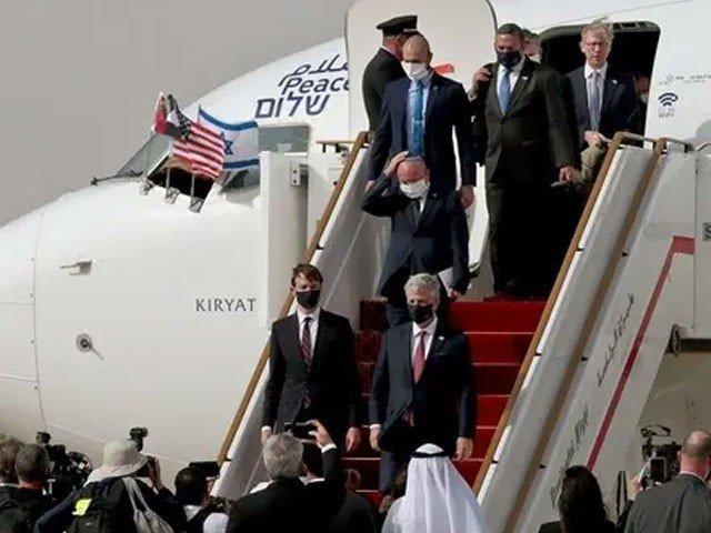 امارات اسرائیل معاہدے کے بعد دونوں ممالک میں سفارتی اور تجارتی تعلقات قائم کرنے پر اتفاق کیا گیا تھا(فوٹو، رائٹر)