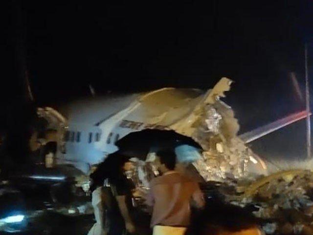 دبئی سے آنے والی پرواز میں 191 مسافر موجود تھے، فوٹو : بھارتی میڈیا