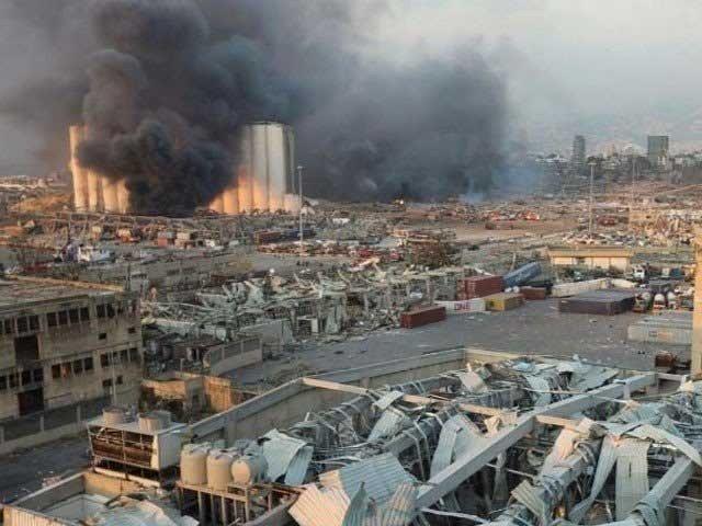 خوفناک دھماکوں سے آدھا شہرمتاثرہوا ہے،گورنرمروان عبود: فوٹو: فائل